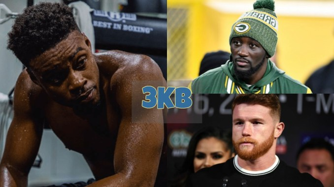 Errol Spence, Terence Crawford and Canelo Alvarez
