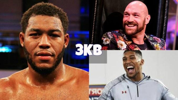 Michael Hunter targets Tyson Fury or Anthony Joshua next