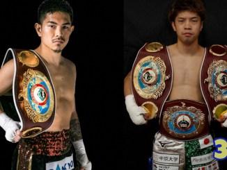 Kazuto Ioka (left) and Kosei Tanaka