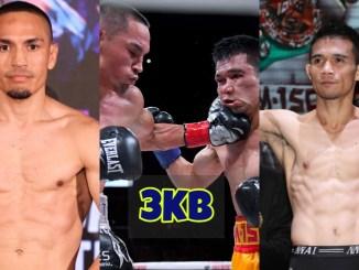 Juan Francisco Estrada makes weight; Juan Francisco Estrada lands a left hook on Srisaket Sor Rungvisai; Srisaket Sor Rungvisai makes weight.