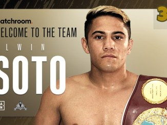 Elwin Soto welcomed to Matchroom