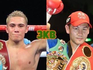 WBO World Light Flyweight champion Elwin Soto, Katsunari Takayama