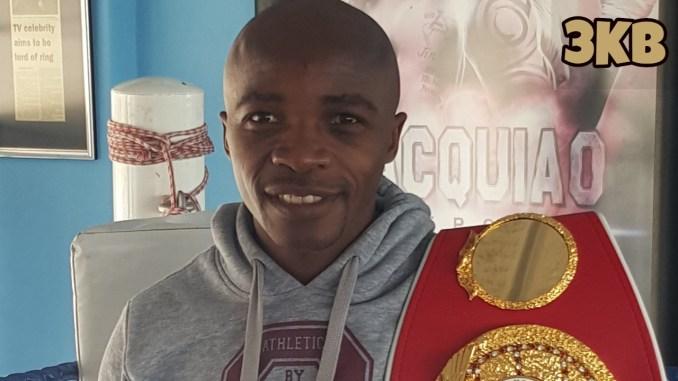 IBF World Flyweight champion Moruti Mthalane
