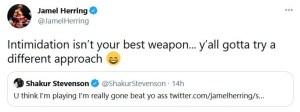 Jamel Herring laughs off threats from Shakur Stevenson