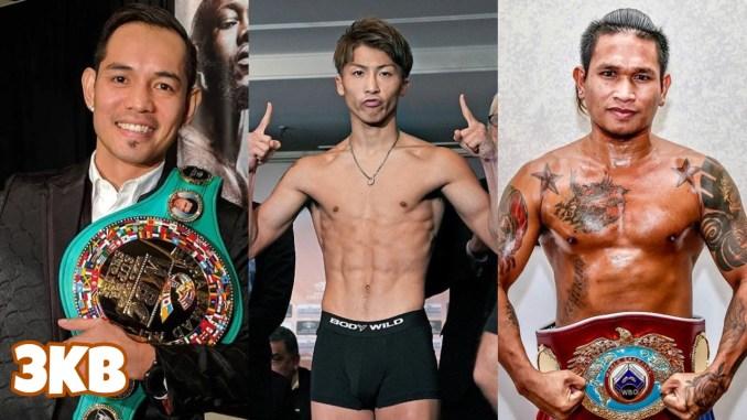 WBC Champion Nonito Donaire, Unified champion Naoya Inoue, WBO Champion John Riel Casimero