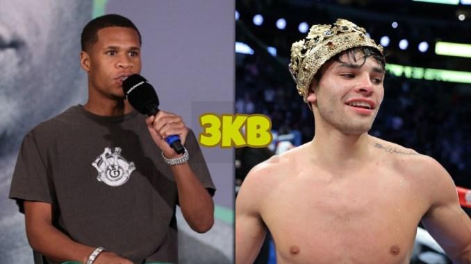 WBC Lightweight champion Devin Haney, Ryan Garcia