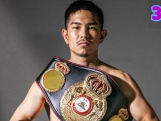 WBO Super Flyweight champion Kazuto Ioka