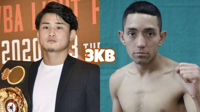 WBA Light Flyweight champion Hiroto Kyoguchi, Esteban Bermudez