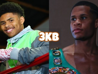 Shakur Stevenson, WBC Lightweight champion Devin Haney