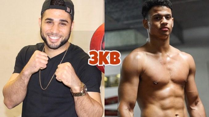 Lightweight prospects Lucas Bahdi and Rolando Romero