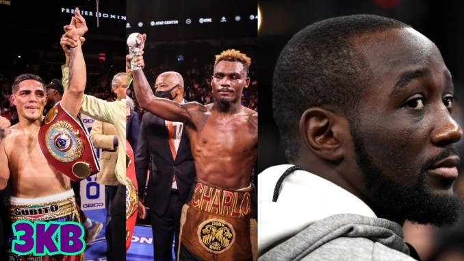 Brian Castaño and Jermell Charlo draw in their undisputed bout, WBO welterweight champion Terence Crawford