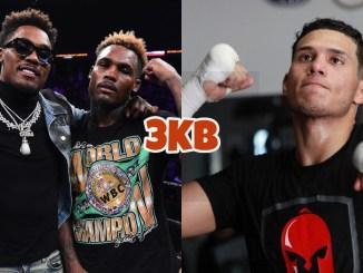 Unified super welterweight champion Jermell and WBC middleweight champion Jermall Charlo, David Benavidez