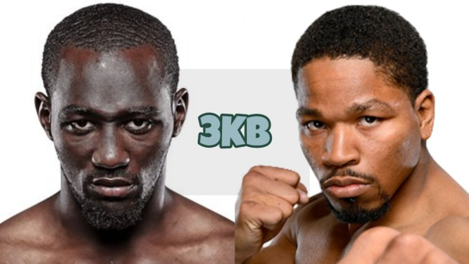 WBO welterweight champion Terence Crawford, Shawn Porter