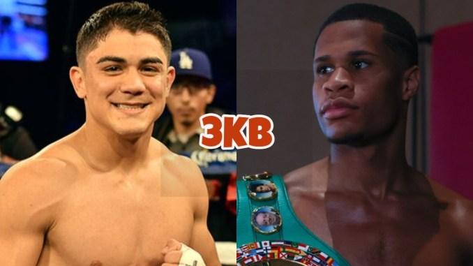 Joseph Diaz, WBC lightweight champion Devin Haney