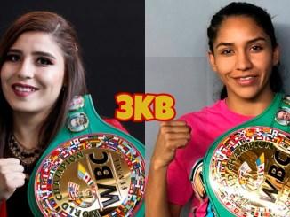 WBC womens super bantamweight champion Yamileth Mercado, two-divisional champion Yulihan Luna