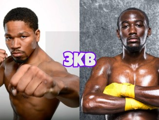 Shawn Porter, WBO world welterweight champion Terence Crawford