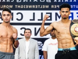 Rolando Romero and Anthony Yigit face-off ahead of their lightweight bout