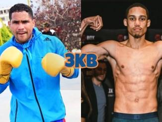 Venezuelan boxer Gabriel Maestre, Mykal Fox