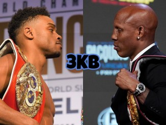 Unified welterweight champion Errol Spence Jr, super WBA welterweight champion Yordenis Ugas