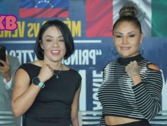 Mariana Juarez and Jackie Nava pose for the cameras