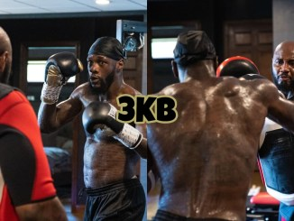 Deontay Wilder training with Malik Scott for trilogy fight with Tyson Fury