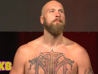 Robert Helenius at fight weigh-in for Adam Kownacki rematch