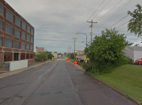 Google Street View of Franklin Avenue in St. Paul