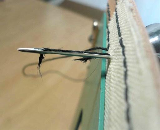 糸が切れる
