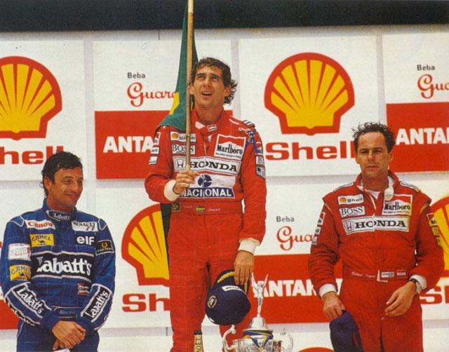 Image result for 1991 interlagos senna
