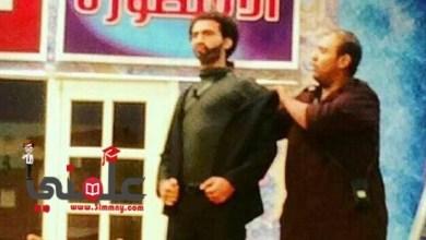 صورة صور جديدة للفنان على ربيع وهوة بيقلد رفاعى الدسوقى كوايس مسرح مصر