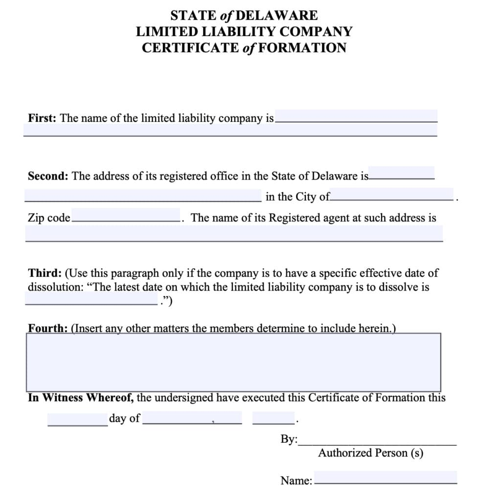 Should You Form An Llc In Delaware How To Decide Where To