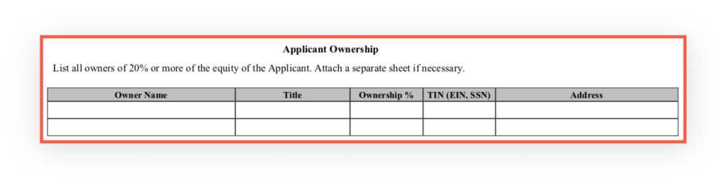 PPP Application Applicant Ownership_1