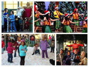 2015 California Center for the Arts Holiday Tree Lighting & Winter Wonderland Festival