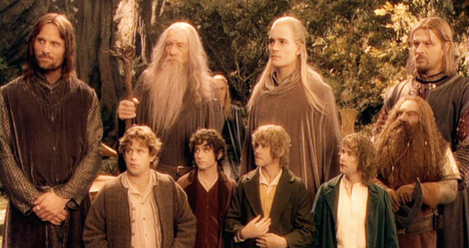 The fellowship stand side by side
