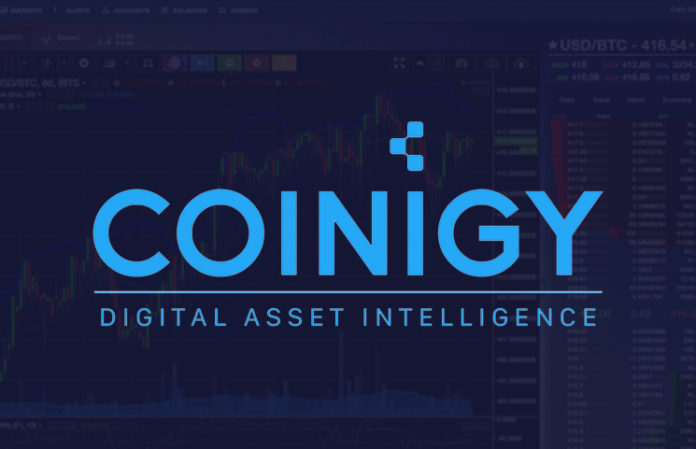 Coinigy Cryptocurrency Trading Mobile App