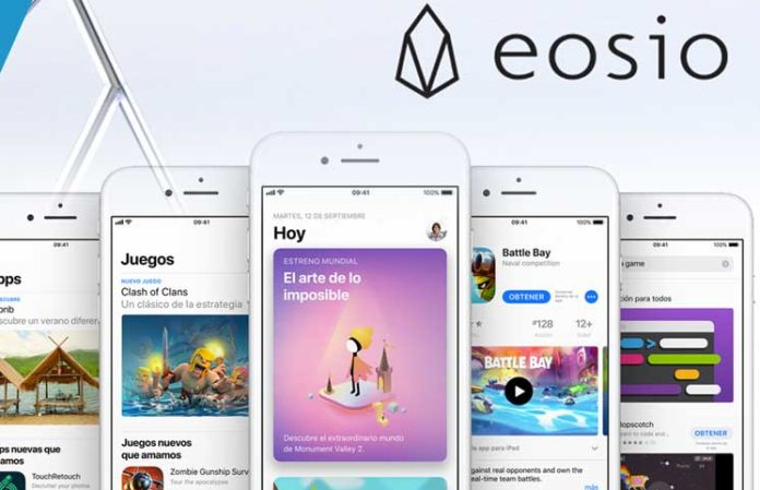 eosio wallet removed from apple app store