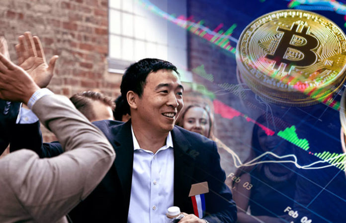 Bitcoin Supporting 2020 US Presidential Candidate Andrew Yang Makes an Important Stride