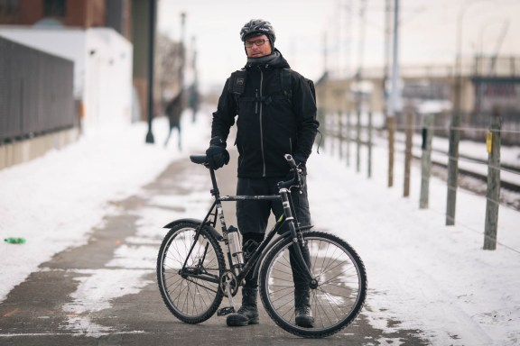 Mark Sirek Surly 1x1 Winter Commuter