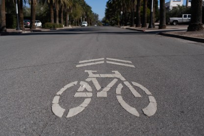 Tucson city bike infrastructure