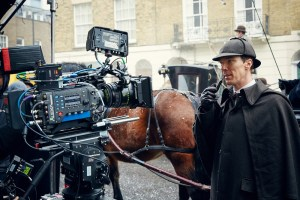 Filming Sherlock