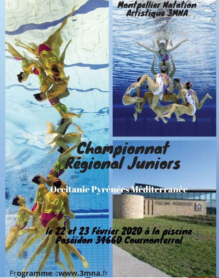 Championnats Regionaux natation artistique