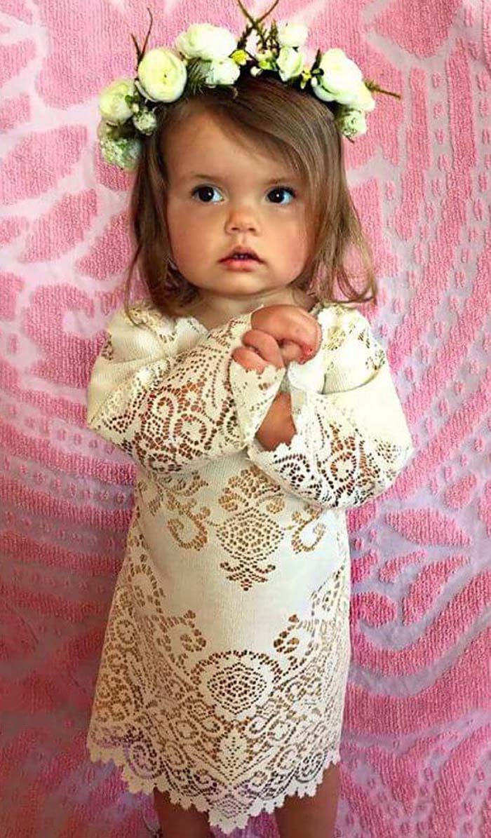 35 Unbelievably Cute Flower Girl Dresses For A Spring