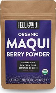 Feel Good Organics 100% Raw Organic Maqui Berry Powder - FREE SHIPPING with AMAZON PRIME