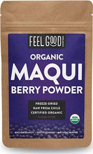 Feel Good Organics 100% Raw Organic Maqui Berry Powder - FREE SHIPPING with AMAZON PRIME