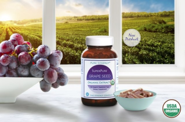 Pure Synergy Organic Grape Seed Extract - FREE SHIPPING with AMAZON PRIME