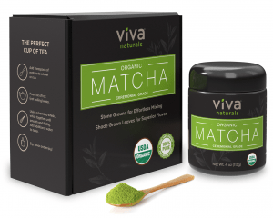 Viva Naturals Organic Japanese Matcha Green Tea Powder - FREE SHIPPING with AMAZON PRIME