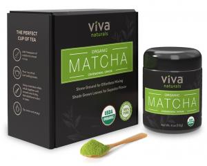 Viva Naturals Organic Japanese Matcha Green Tea Powder - FREE SHIPPING with AMAZON PRIME