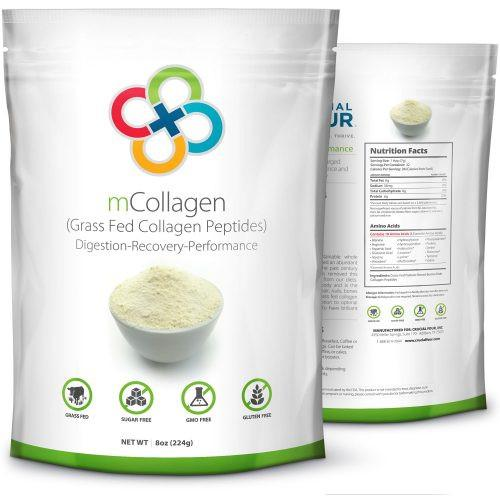 Crucial Four All Natural Non-GMO Grass-Fed Collagen Peptides Type I & III