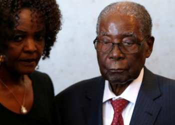 Ex-President Robert Mugabe was ousted in 2017
