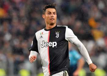 TURIN, ITALY - MAY 19: Cristiano Ronaldo of Juventus in action during the Serie A match between Juventus and Atalanta BC on May 19, 2019 in Turin, Italy. (Photo by Tullio M. Puglia/Getty Images)